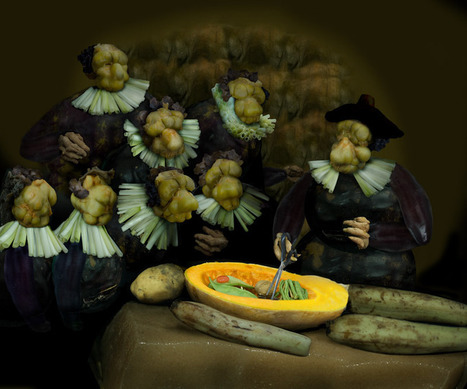 The Vegetable Museum - Ju Duoqi | oeuvres composites | Scoop.it