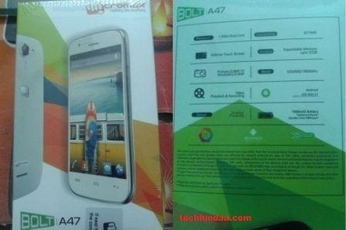 Latest Smartphone Launched Micromax Bolt A47 Specifications, Price | All Smartphone Price, Specifications And Review | Scoop.it