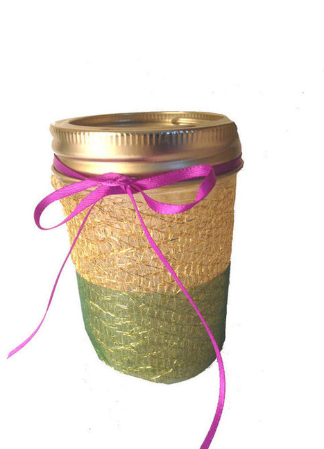 Mardi Gras Mason Jar candle holders festive party lighting, lantern, flower vase,  green, gold, purple, decor, centerpiece | Candy Buffet Weddings, Events, Food Station Buffets and Tea Parties | Scoop.it