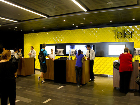 Commonwealth Bank sees Apple, PayPal, and Google as rivals   ZDNet   Disruptive Technologies   Scoop.it