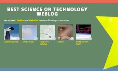 Climate sceptics 'capture' the Bloggies' science category   Sustain Our Earth   Scoop.it