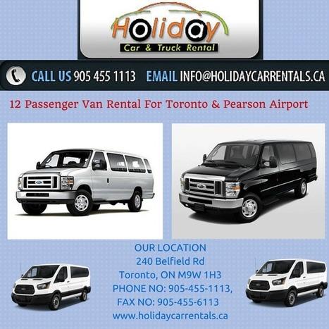 12 Passenger Van Rental For Toronto & Pearson Airport | 12 Seater Van Rental | Scoop.it