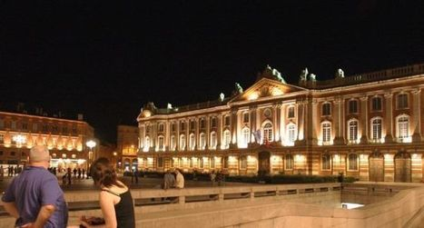 Lumières : le Capitole joue le jeu… pendant une heure | Toulouse La Ville Rose | Scoop.it