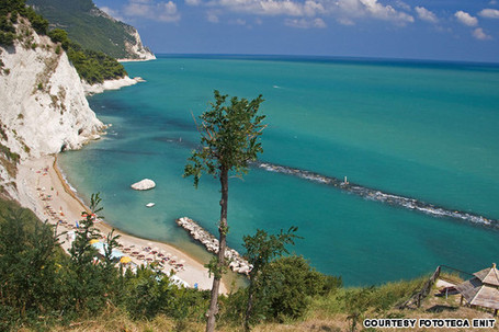 Conero Beach among the Italy's best beaches and islands CNN Travel | Le Marche another Italy | Scoop.it