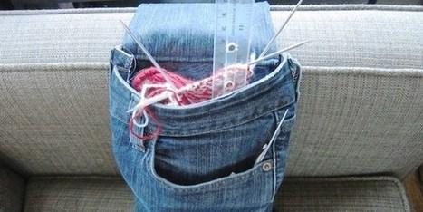 Tutorial Denim bag da bracciolo | MOnica e lo scrapbooking | Scoop.it