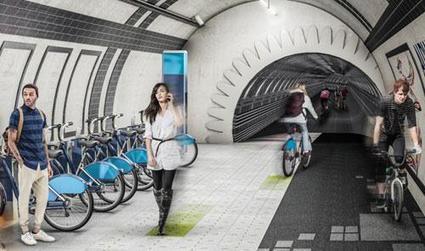 Em Londres projeto prevê a criação de ciclovia subterrânea em túneis abandonados   Revitalizar espaços públicos. Imagens e textos que ilustram condições existentes e visão de comunidade, para recriar ou criar espaços amigáveis, melhorando a qualidade de vida, saúde e vitalidade econômica.   Scoop.it
