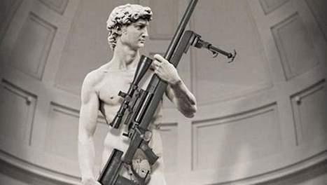 Gewapende David van Michelangelo maakt Italië boos   literatuuractua Alessandro   Scoop.it