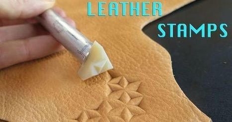 3D Print Your Own Leather Stamps: A great way to learn new practical skills   3D Printing in School (501c3)   Scoop.it