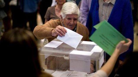 Spanish elections: Podemos and Ciudadanos make gains - BBC News | Peer2Politics | Scoop.it
