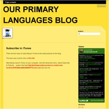 Integrating ICT into the MFL classroom:: Easy classroom blogging with Posterous | TELT | Scoop.it