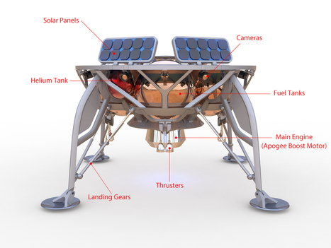 Google Lunar XPRIZE Competition To Land On The Moon Sees Israeli Company Take The Lead | The NewSpace Daily | Scoop.it