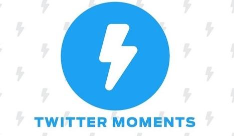 Twitter Moments s'ouvre à de plus en plus de profils Twitter | Chiffres et infographies | Scoop.it