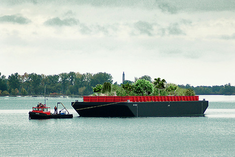 All Aboard: Floating Food Forest Prepares for Debut Voyage in New York | Lorraine's Place and Liveability | Scoop.it