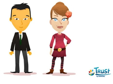 Trust by Danone : le social gaming au service du recrutement | Social_gaming_fr | Scoop.it