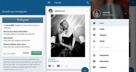Imagine for Instagram: client multi-utente con Material Design - Android Blog Italia | Scoop Social Network | Scoop.it