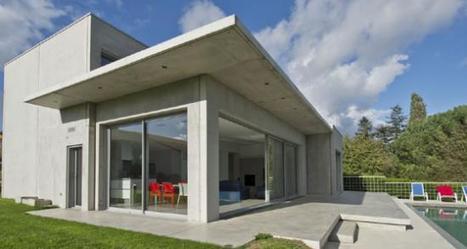 Dompierre s/Yon (85). Esthétique et performance pour une maison BBC en béton préfabriqué | Le Béton, naturellement | Solutions béton pour maisons individuelles performantes | Scoop.it