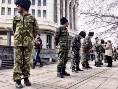 Politiken på Krim: Paramilitære styrker omringer parlamentet | Samfundsfag og IØ | Scoop.it