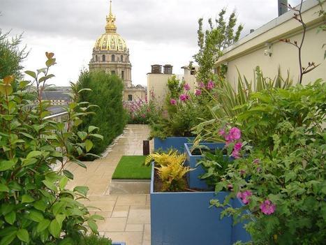 Terrasses de rêve en ville - DomoZoom.com   Architecture, design et décoration   Scoop.it