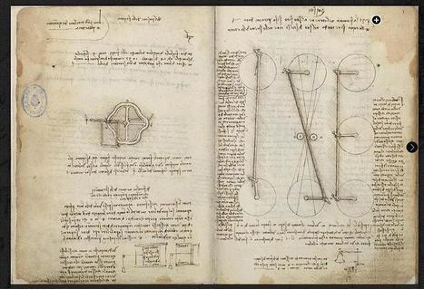 La Biblioteca Nacional permite navegar por los manuscritos de Leonardo | Educación 2.0 | Scoop.it