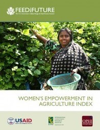 The Women's Empowerment in Agriculture Index | Oxford Poverty & Human Development Initiative (OPHI) | Mrs. Watson's Class | Scoop.it