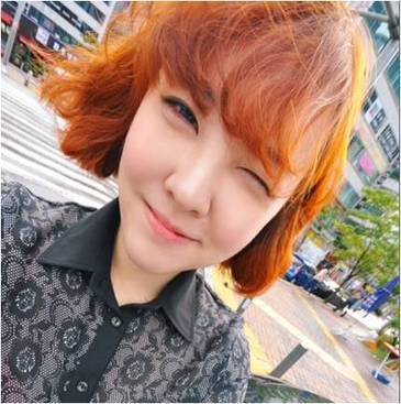 Orange Brown Hair Color With Fluffy Short Haircut | Beauty Tips | Scoop.it