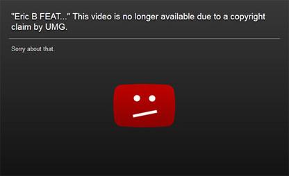 Quand Universal censure à tout-va sur Youtube... | Musique et Web culture | Scoop.it