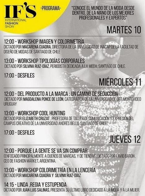 Fashion Studio Magazine: INTERNATIONAL FASHION SHOW CHILE | International Fashion Show Chile | Scoop.it