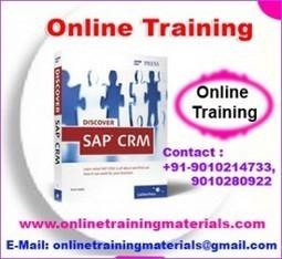 SAP CRM online training institute in Ameerpet, SAP CRM Online Training Institute from Hyderabad India.   Online Training Materials   Online Training   Scoop.it