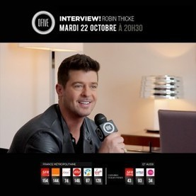 Interview! Robin Thicke sur ofive | Rap , RNB , culture urbaine et buzz | Scoop.it