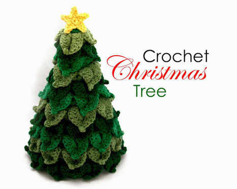 Little Abbee: O' Crochet Christmas Tree! Crochet TUTORIAL | Crochet with Meladora's Creations | Scoop.it
