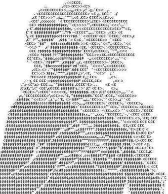 ECLETTICAE - Ascii Art and Calligrams | ASCII Art | Scoop.it