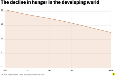 The amazing decline of global hunger, in one chart | Plant Genetics, NGS and Bioinformatics | Scoop.it
