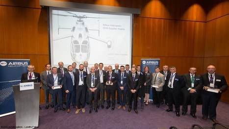 Airbus Helicopters awards best suppliers in second awards ceremony - Skies Magazine | innovation | Scoop.it