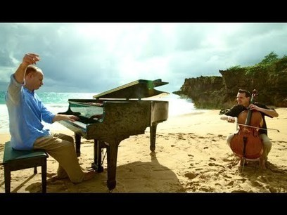 Over the Rainbow/Simple Gifts (Piano/Cello Cover) - ThePianoGuys   2am Traffic Blog   Scoop.it