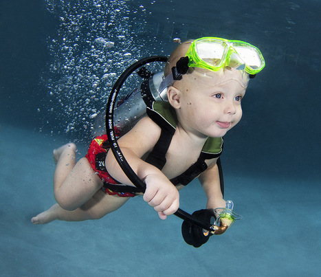 13 Babies Pose Underwater For Magical Photo Series - Huffington Post | SA Scuba Shack | Scoop.it