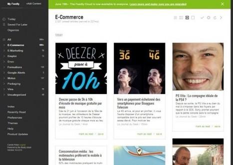 Gérez vos flux RSS avec Feedly!   E-Markethings   Scoop.it