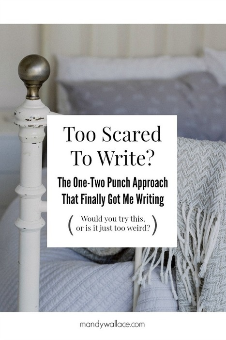The One-Two Punch Writing Tip That Finally Got Me Writing | Writing | Scoop.it