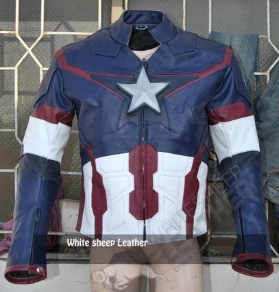 Avengers 2 Captain America Age of Ultron Costume Replica jacket /Chris Evans Captain America Jacket 2015 | movie leather jackets | Scoop.it
