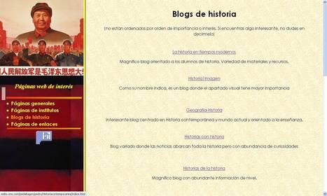 Blogs de Historia | Enlaces - clases europeas | Scoop.it