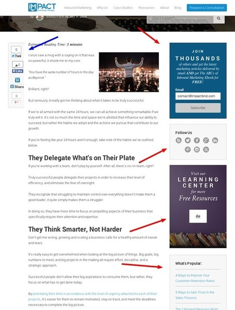 Arrêtez de PERDRE des clients à cause de votre Sidebar | Entrepreneurs du Web | Scoop.it