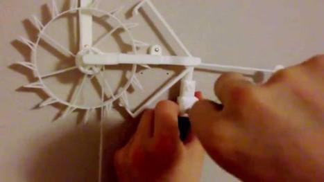 Simple Graham escapement #3DThursday #3DPrinting | Heron | Scoop.it