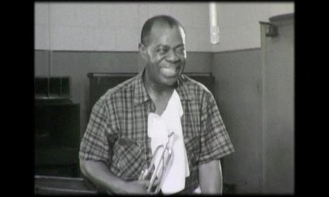 Only known film of Louis Armstrong in studio discovered in storage facility | Business Video Directory | Scoop.it