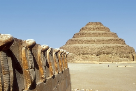 The Step Pyramids at Sakkara | Explore Egypt Travel | Scoop.it