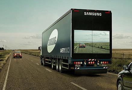 Samsung test-drives 'see-through' truck - SAE International | Automotive Development | Scoop.it