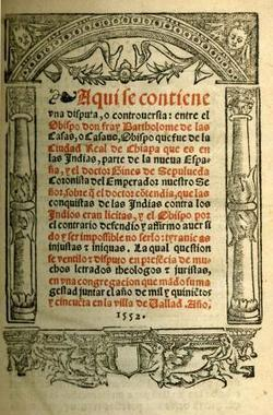 Bartolomé de Las Casas debates the subjugation of the Indians, 1550 | AP US History Study Guide from The Gilder Lehrman Institute of American History | OHS APUSH | Scoop.it