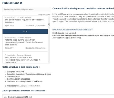 ScanR, un moteur pour identifier les structures de recherche et d'innovation en France | Outils Froids | François MAGNAN  Formateur Consultant | Scoop.it