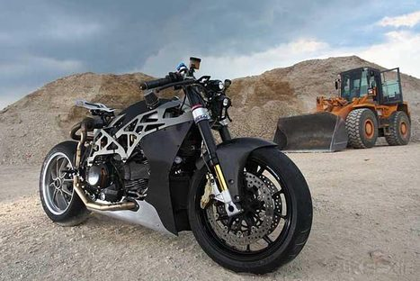 SCM 1.0 Ducati Monster | BikeEXIF | Ductalk Ducati News | Scoop.it