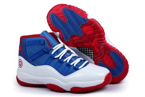 Air Jordan 11 Captain America White Blue Red - Jordan Retro 11,Air Jordan 5 Retro,Cheap Air Jordan 11,12,13 Retro!   Jordan Retro 11   www.jordanretro11.biz   Scoop.it