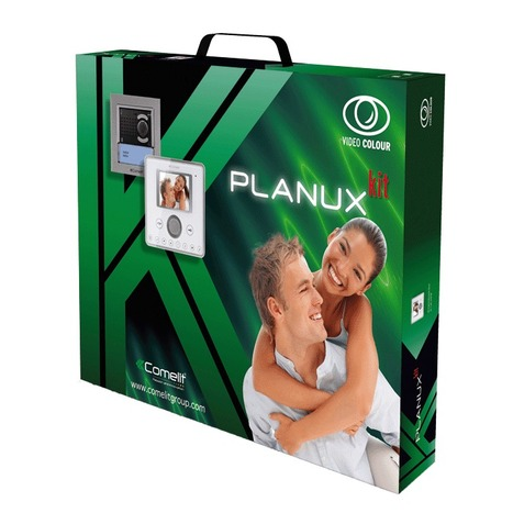 Comelit Planux Kit with Ikall entrance panel   Door Entry Systems   Scoop.it