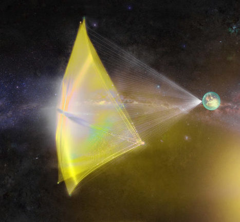Shields up! Scientists tweak design of Alpha Centauri probes to minimize damage | The NewSpace Daily | Scoop.it